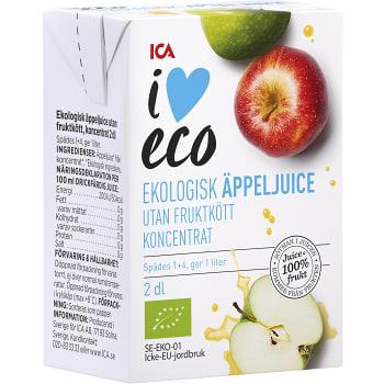 Äpplejuice koncentrat Ekologisk 2dl ICA I love eco