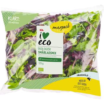 Småbladsmix Storpack Ekologisk 125g ICA I love eco Klass 1
