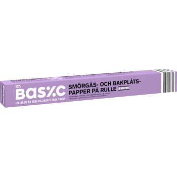 Bakplåtspapper Rulle 8m ICA Basic