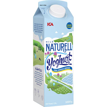 Yoghurt Naturel 3% 1000g ICA