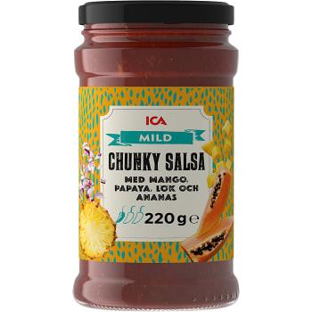Chunky salsa Mild 220g ICA