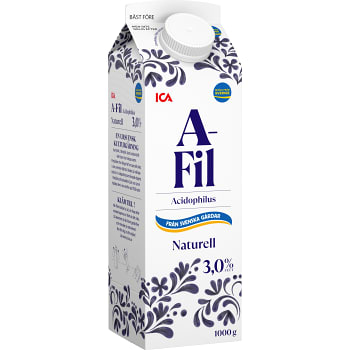 A-fil Naturell 3% 1kg ICA