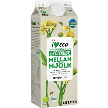 Mellanmjöl 1,5l KRAV ICA I love eco