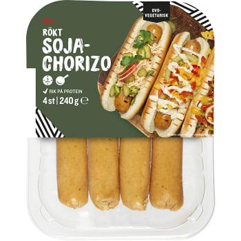 Vegetarisk korv Chorizo 240g ICA