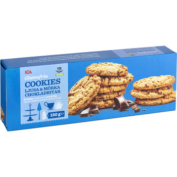 ica choklad cookies