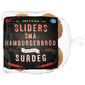 Hamburgerbröd Små 8-p 256g ICA