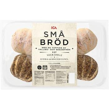 Småbröd med topping 6-p 300g ICA