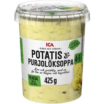 Potatis & Purjolökssoppa 425g ICA