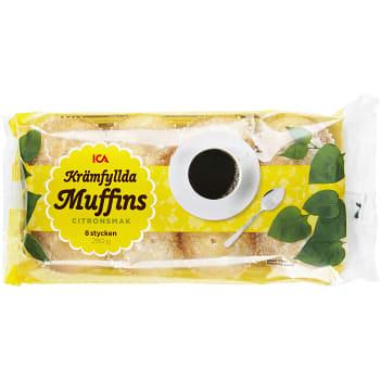 Muffins Krämfyllda 8-p 280g ICA