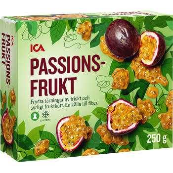 Passionsfrukt Fryst 250g ICA