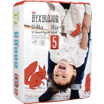 Byxblöjor 12-18kg Miljömärkt 38-p ICA