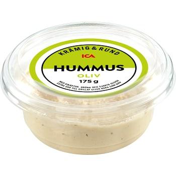 Hummus med oliver 175g ICA