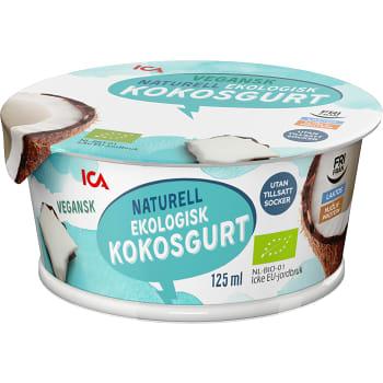 Kokosgurt Naturell Mjölkfri Ekologisk 125ml ICA