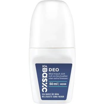 Deodorant Man Roll on 50ml ICA Basic