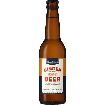 Måltidsdryck Ginger Beer Alkoholfri 33cl ICA Selection
