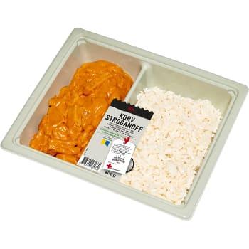 Korvstroganoff med ris 400g ICA