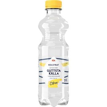 Vatten Kolsyrat Citron 33cl ICA