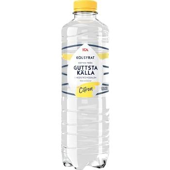 Vatten Kolsyrad Citron 50cl ICA