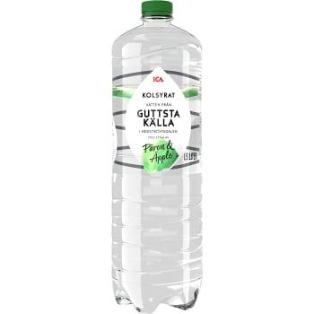 Vatten Kolsyrad Päron Äpple 150cl ICA