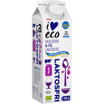 A-Fil 3% Laktosfri 1kg KRAV ICA I love eco