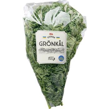 Grönkålsblad Påse 400g ICA
