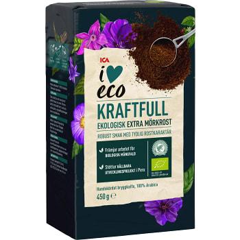 Kaffe Extra mörkt Brygg Ekologisk 450g ICA I love eco