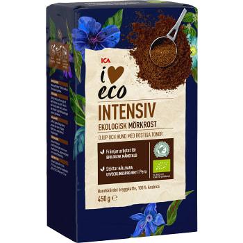 Kaffe Mörkrost Brygg Ekologisk 450g ICA I love eco