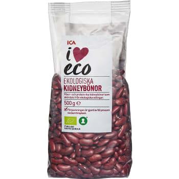 Röda Kidneybönor Torra Ekologiska 500g ICA