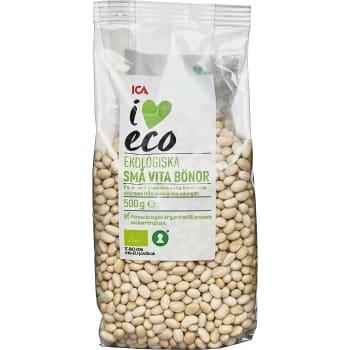 Små vita bönor torra Ekologiska 500g ICA