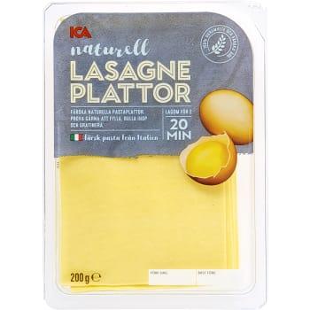 Lasagneplattor Färsk 200g ICA