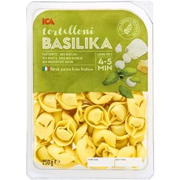 Pasta Tortelloni Basilika Färsk 250g ICA