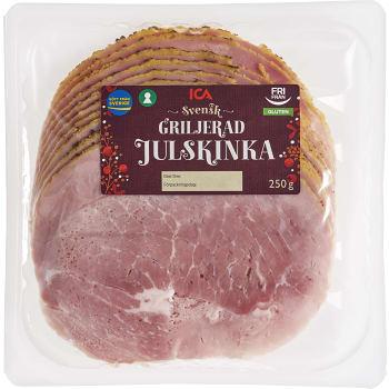 Pålägg Griljerad julskinka Glutenfri 250g ICA