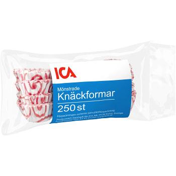 Knäckformar Mönstrade 250-p ICA