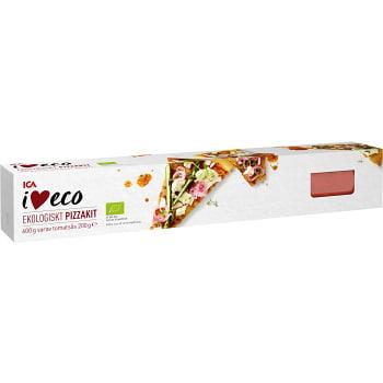 Pizzakit Ekologisk 1-p 600g ICA I love eco