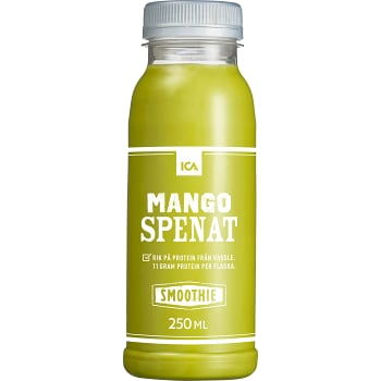 Smoothie Mango & spenat 250ml ICA