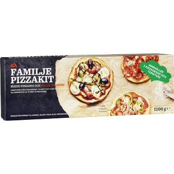 Pizzakit Familj 1,1kg ICA