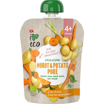 Smoothie Morot & potatis 4+mån 90g ICA I love eco
