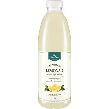 Lemonad Nypressad Citron 1l ICA Selection