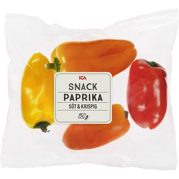 Snackpaprika 150g ICA