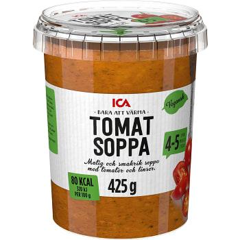 Tomatsoppa Vegansk 425g ICA