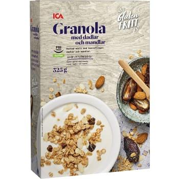 Granola Dadlar O Mandel