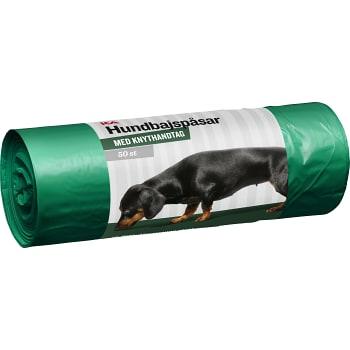 Hundbajspåse Grön 50-p ICA