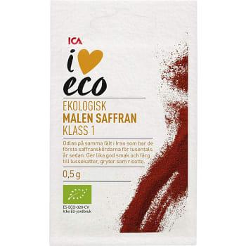 Saffran Malen Klass 1 0,5g Ekologisk ICA I love eco