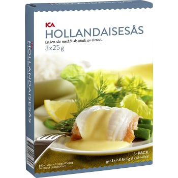 Hollandaisesås 3-p 600ml ICA