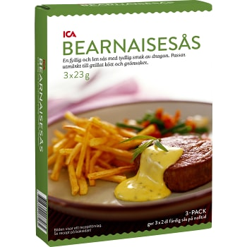 Bearnaisesås 3-p 600ml ICA