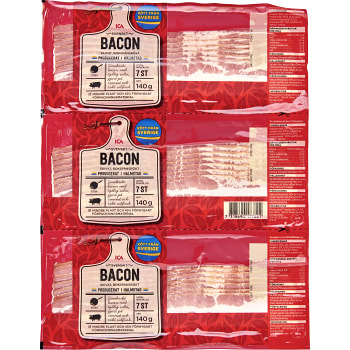 Bacon Skivat 3-p 420g ICA