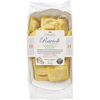 Pasta Ravioli Färsk Gorgonzola & valnöt 250g ICA Selection