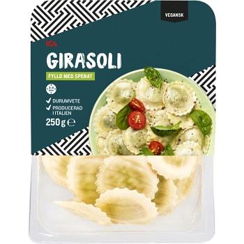 Pasta Girasoli Färsk Spenatfyllning Vegansk 250g ICA