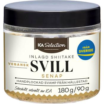 Svill Inlagd Shiitake & Senap vegansk 90g ICA Selection