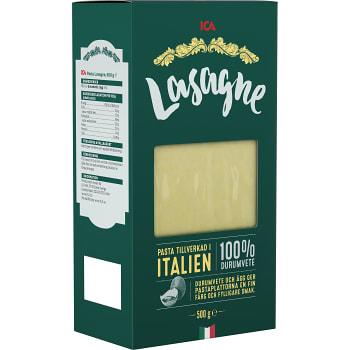 Lasagneplattor 500g ICA